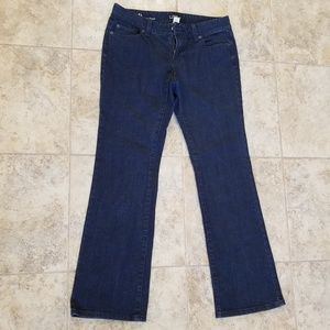 LOFT Great Condition Curvy Boot Cut Blue Jeans